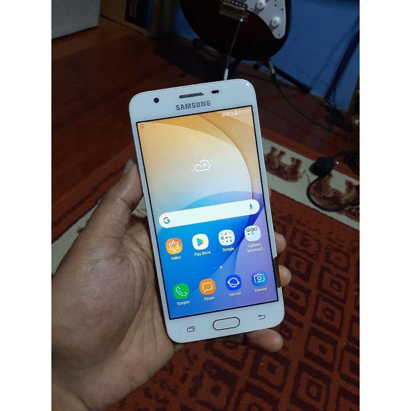 Handphone Hp Samsung J5 Prime 2/16 Second Seken Bekas Murah