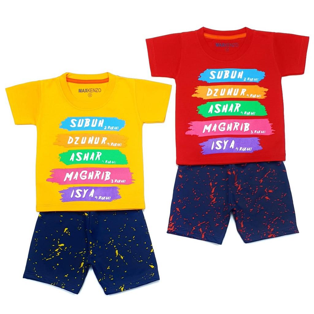 0ddaf7f8f Rakaat 0 - 7 Tahun MAXKENZO Setelan Baju Anak Berkualitas