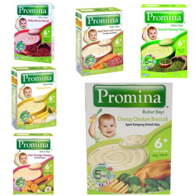 Promina Bubur Bayi 6 8 Tim Instant Instan Makanan Bayi Mpasi Kemasan Dus Makassar Shopee Indonesia