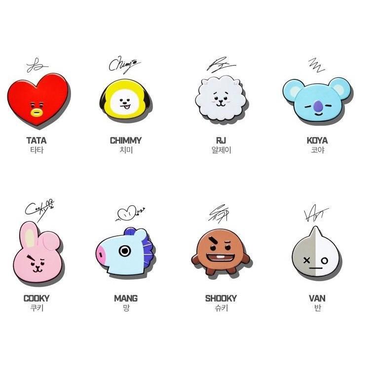 Rsb Stiker Lucu Karakter Bts Sticker Karakter High Quality Import Batam Shopee Indonesia