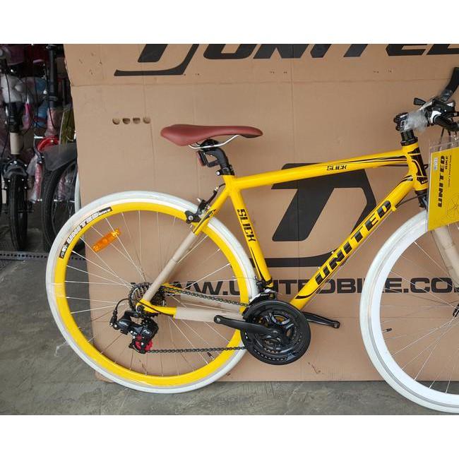 Str5 Termurah Ë Sepeda Fixie Hybird 700 C Slick 71 Frame Alloy Modif Stang Balap Shopee Indonesia