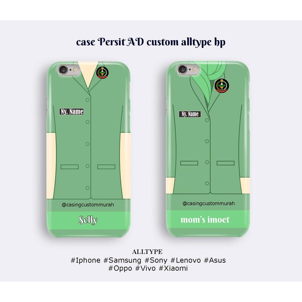 Custom Case Seragam Persit TNI AD Untuk Hp Samsung Sony LG Iphone Oppo Vivo Xiaomi