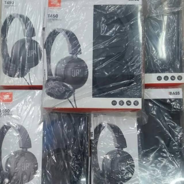 JBL T450 ON EAR Headphones Pure Bass Original
