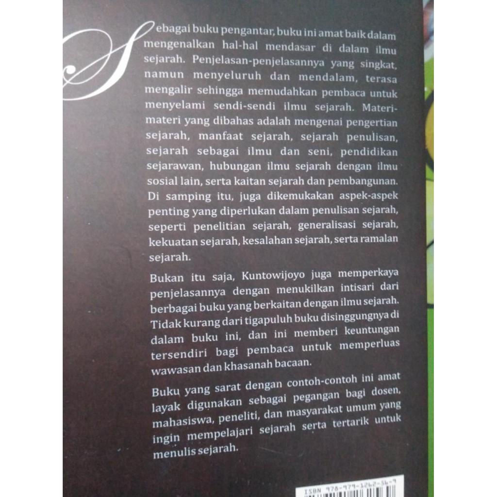 Pengantar Ilmu Sejarah Kuntowijoyo Shopee Indonesia