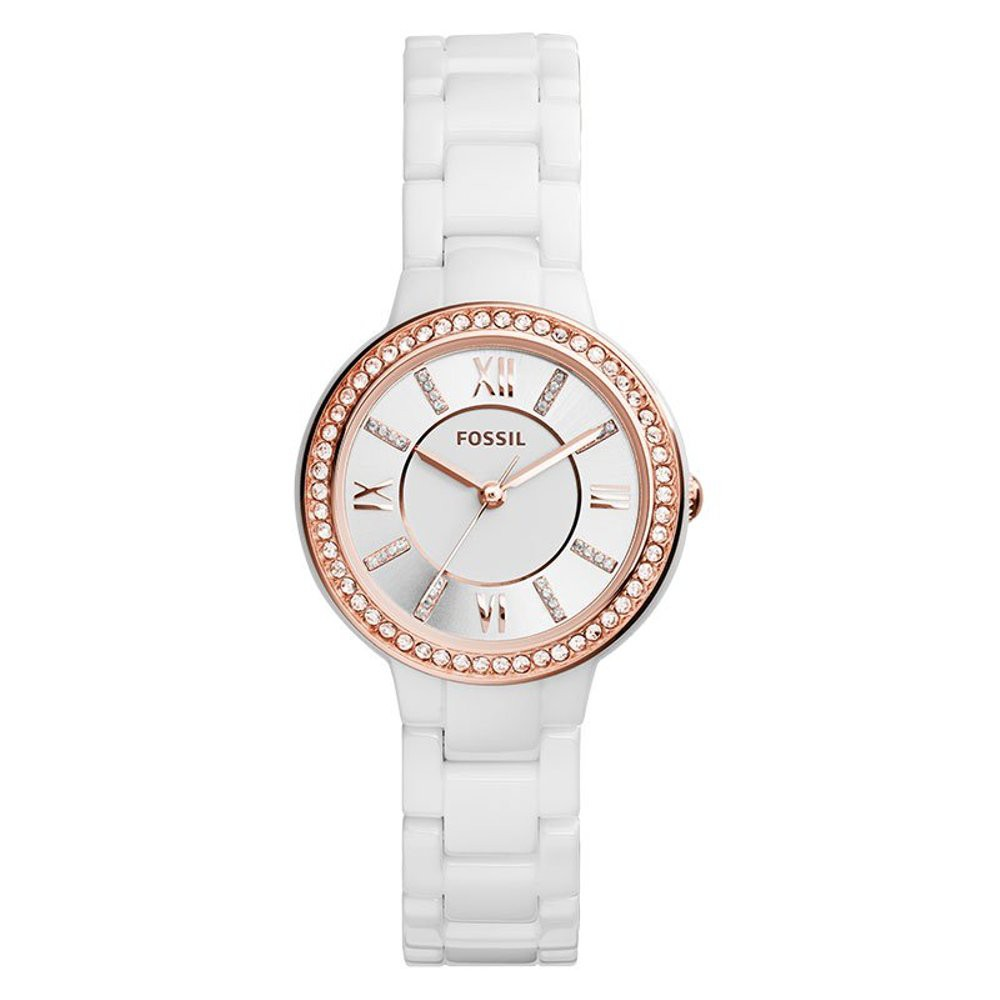 Fossil Es3282 Virginia Stainless Steel Watch Shopee Indonesia Alain Delon Products For The Best Price In