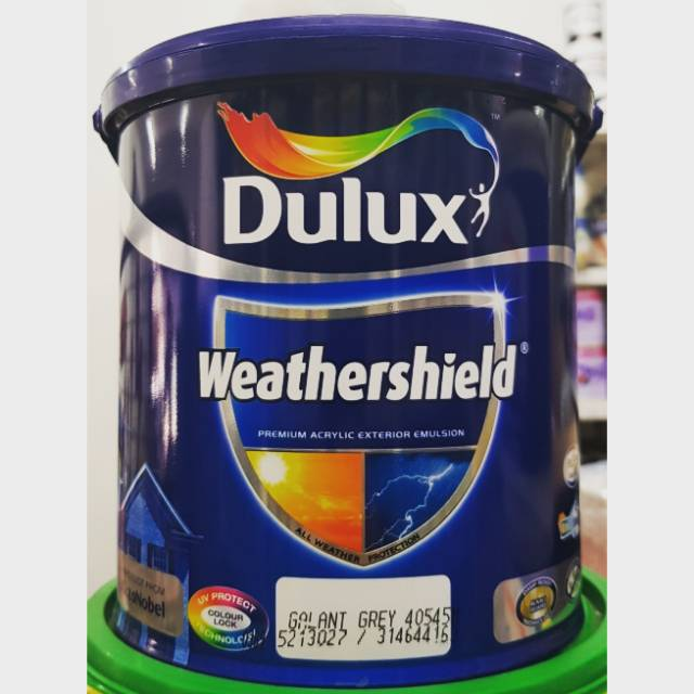 CAT DULUX WEATHERSHIELD 2 5 LTR WARNA Shopee Indonesia