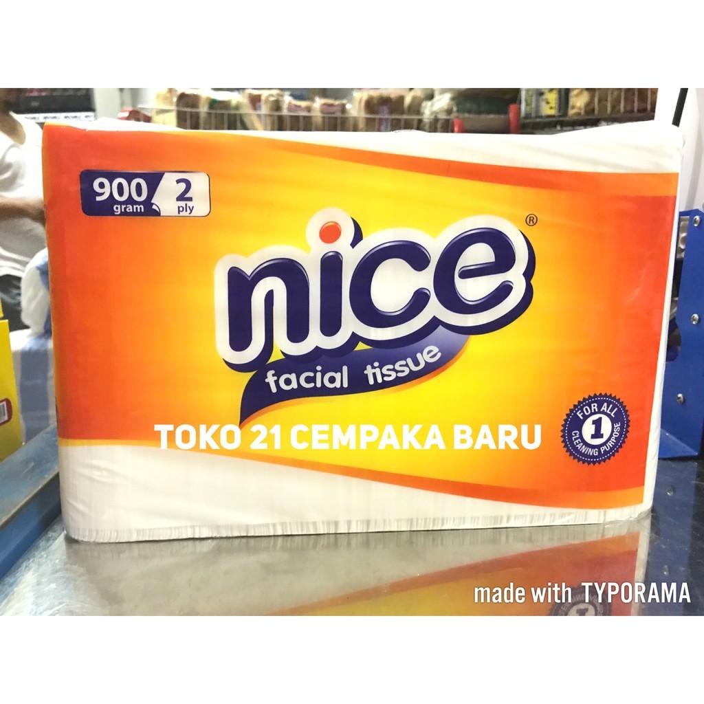 Nice Facial Tissue 900 Gram Daftar Harga Terlengkap Indonesia Original Tisu Tessa Wajah 250 Sheets 2 Ply 900gr 2ply Shopee