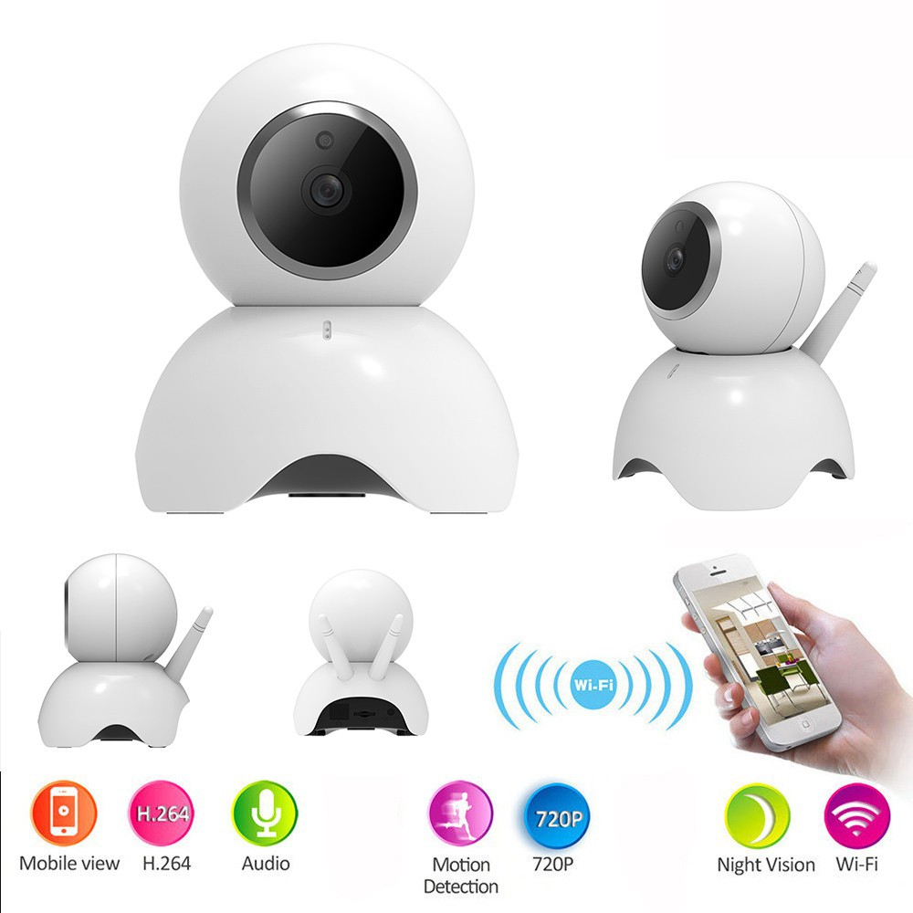 Ifone 720p Pan Tilt Network Security Cctv Ip Camera Night Vision Spc Smart Home Wireless Dual Antenna 2 Antena Hd Ir Wifi Webcam Shopee Indonesia