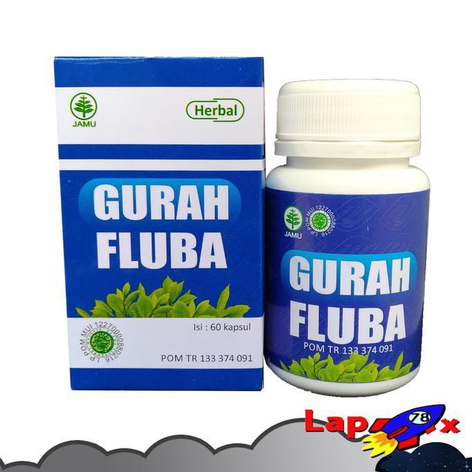 Gurah Fluba Obat Herbal Gurah Lendir Flu dan Batuk Berdahak HIU Herbal Indo Utama | Shopee Indonesia