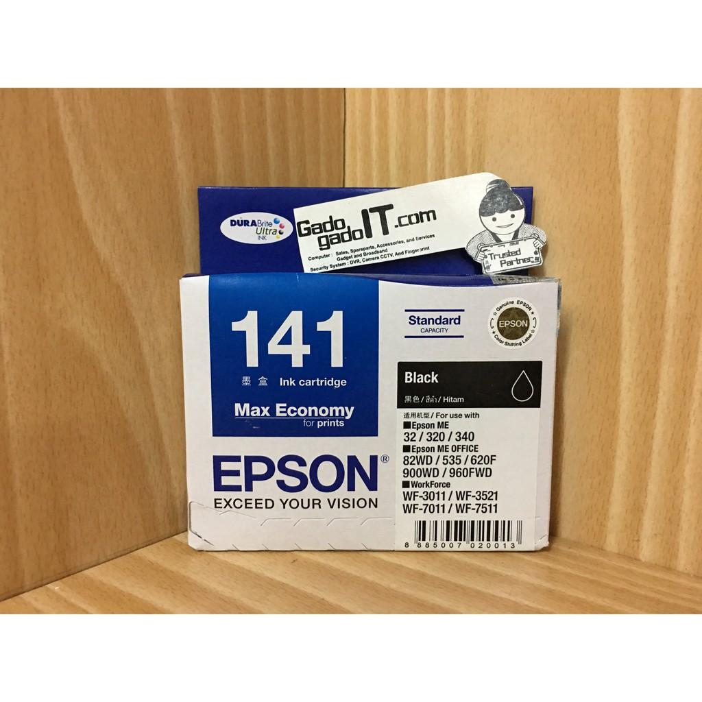 Tinta Epson 774 Black Original Pigment Ink T774 T7741 Shopee Printer M100 M105 M200 M205 140 Ml Indonesia