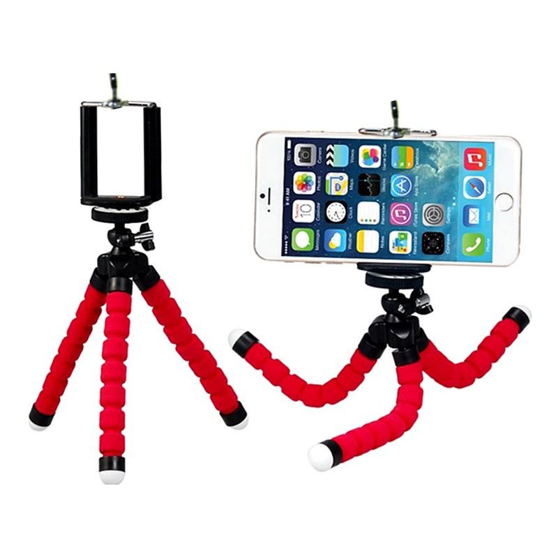 Tripod Phone Holder Flexible Octopus For Gopro Camera DSLR Mount