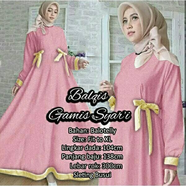 hijab+dress+muslim+pakaian+wanita - Temukan Harga dan Penawaran Online  Terbaik - Februari 2019  a31dd46554
