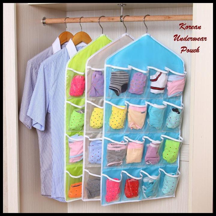 DapurCantik [200 gr] Korean Underwear Pouch / Pouch Gantung / Pouch Serbagun- KUP   Shopee Indonesia