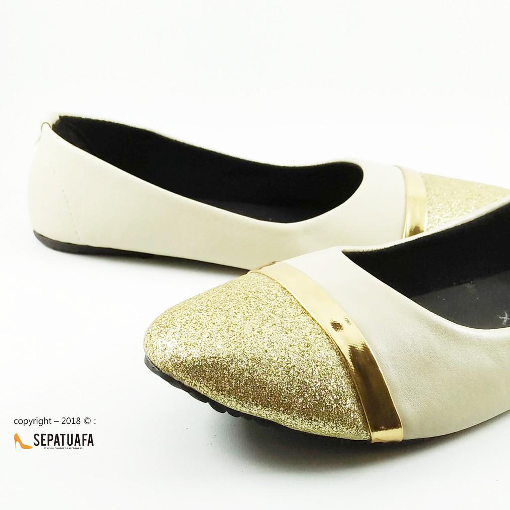 Sepatuafa - Flat Shoes Sepatu Teplek Kirana AS28  43d798a98e