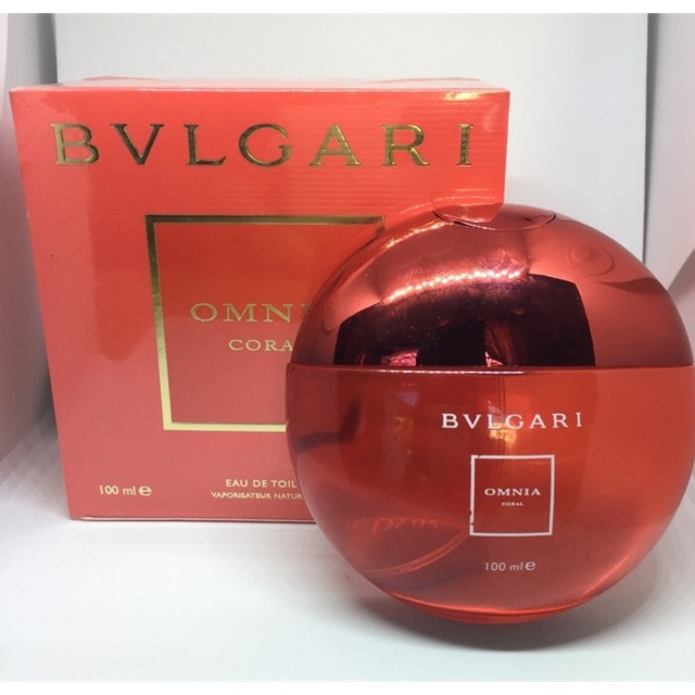 5ml Bvlgari Omnia Coral Shopee Indonesia