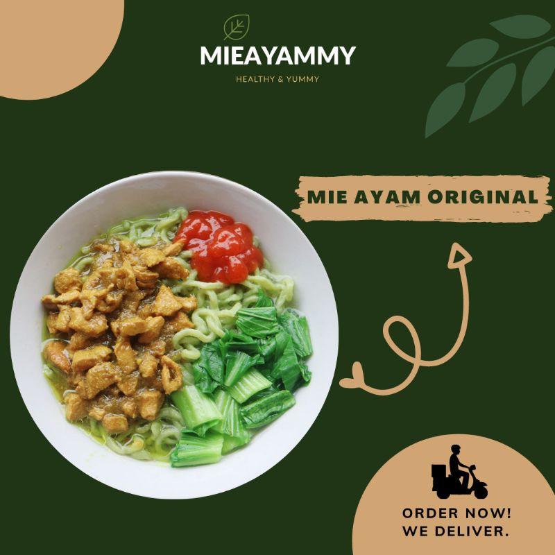 Mie Ayam Original (Mie hijau)/Mie Ayam Instan/Mie Ayam Frozen