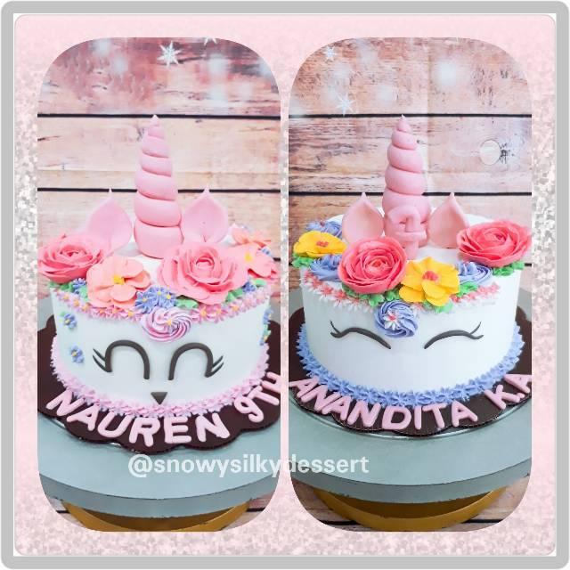 Cake Unicorn Kue Ulang Tahun Unicorn Kue Tart Kue Little Pony