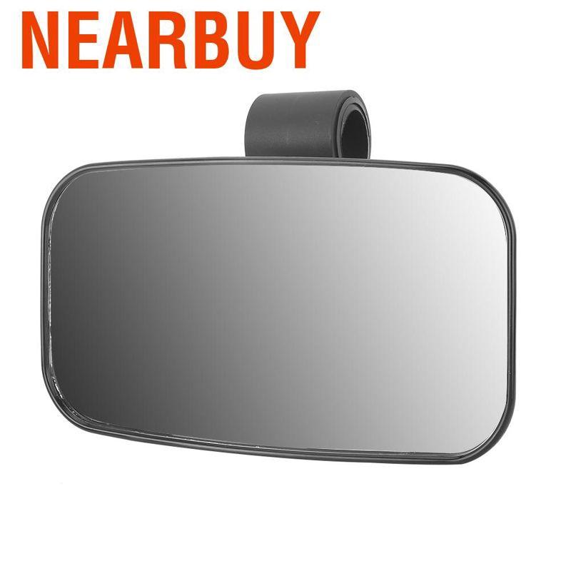 Red UTV Universal Side /& Rear View Mirror Kit for Yamaha Viking 700
