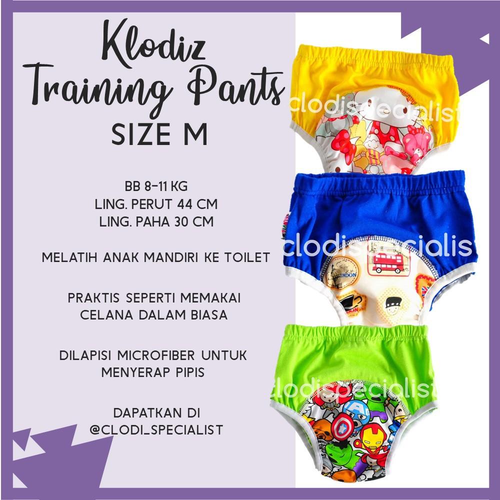 Celana Dalam Anak Mom N Bab Training Pants Dog Shopee Indonesia Short Tee Blue Whale Tail Size 24m