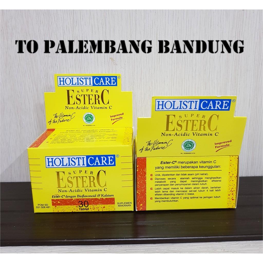 Holisticare Super Ester C 90s Daftar Harga Terkini Dan Terlengkap 30 Tablet