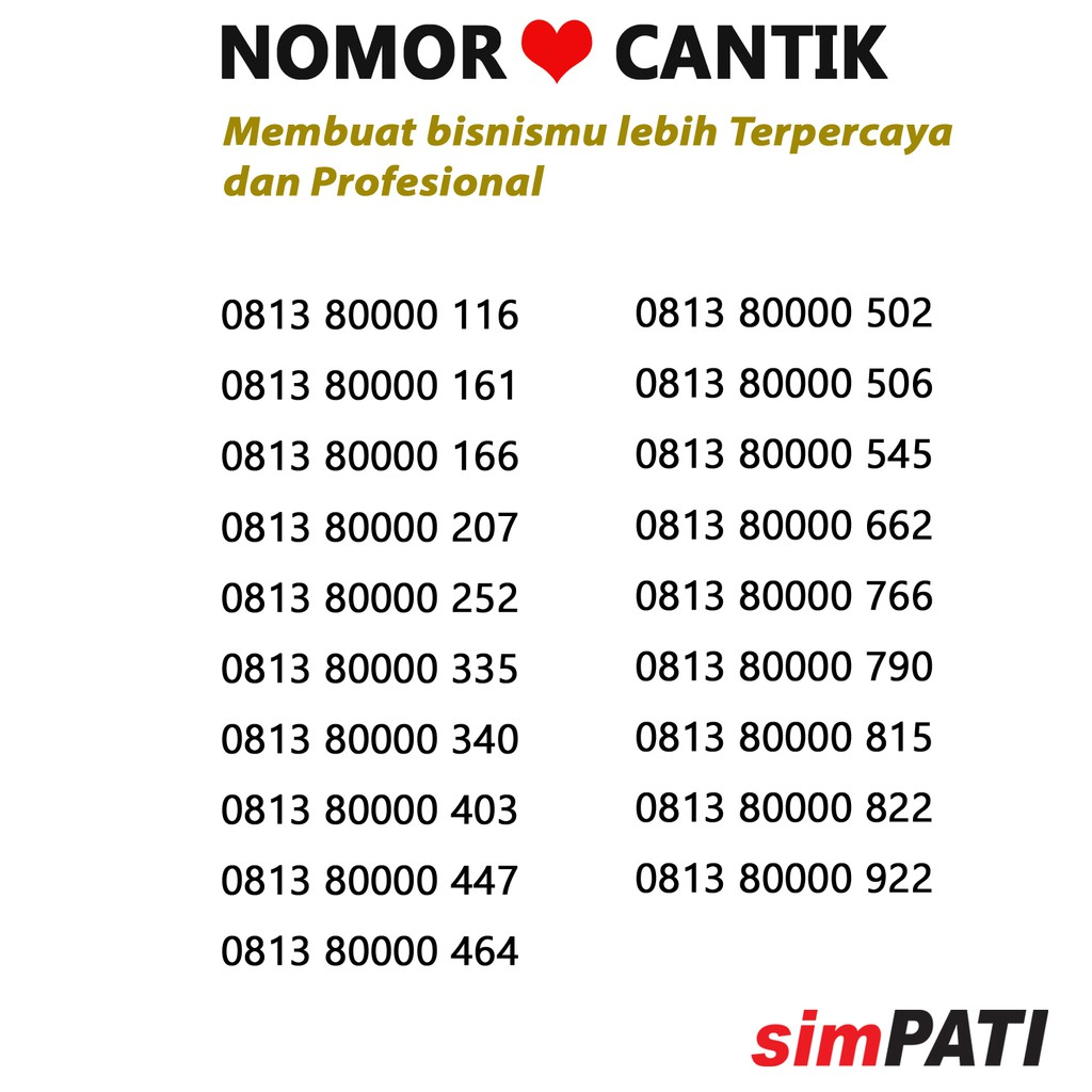 NOMOR CANTIK AS TRIPLE 8 4G   KARTU PERDANA TELKOMSEL NOMER SERI 0823 8880 8881  