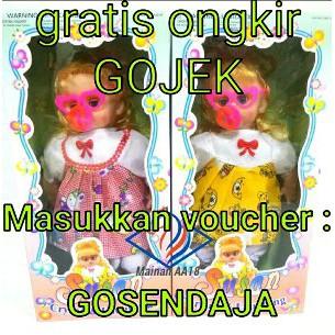 Ready Boneka Menangis Minum Susu Bisa Menyanyi lho FREE  29feef22f7