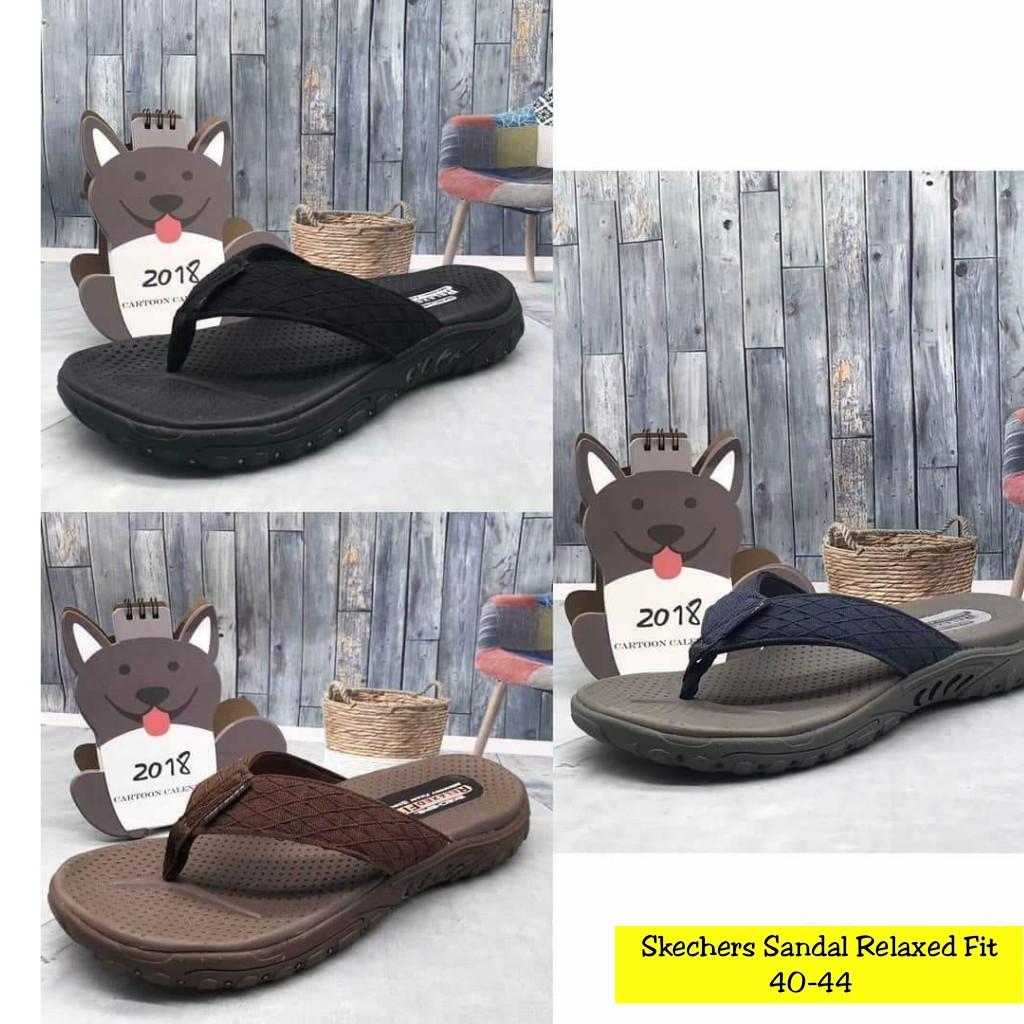 skechers   sandal skechers   skechers original   Skechers Men Go Walk -  Hitam 0b77bcbfe1