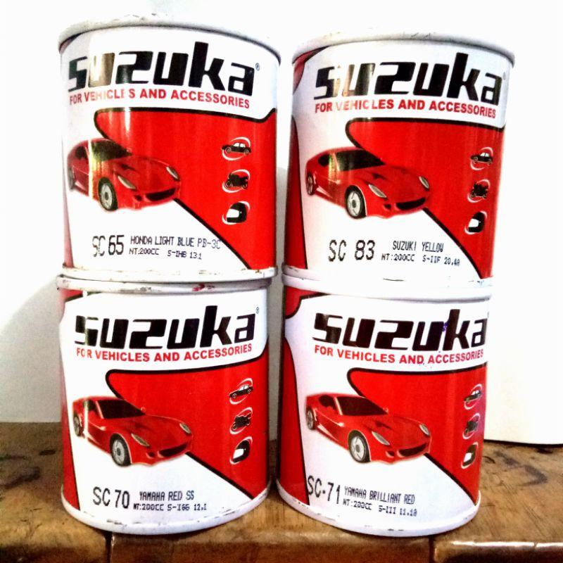 CAT Duco Dico SUZUKA Varian CANDY RED BLUE YELLOW 200 ml bisa mobil, motor, kayu besi