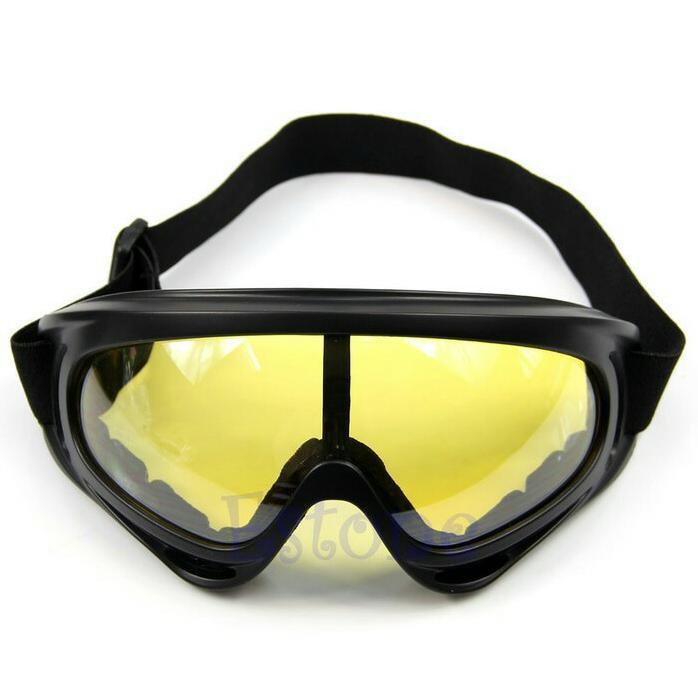 Kacamata Anti Silau Siang Dan Malam   Kaca Mata Motor HD Vision Riding  Glasses Night Driving 354950f99f