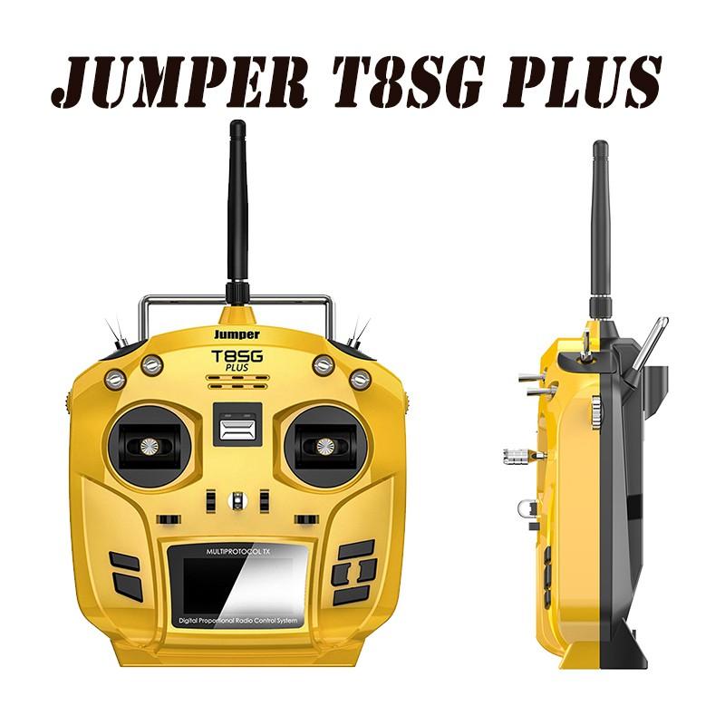 Jumper T8SG Plus V2 0 Hall Gimbal OLED Display Advanced Transmitter JR /  FRSKY Compatible Mode 2