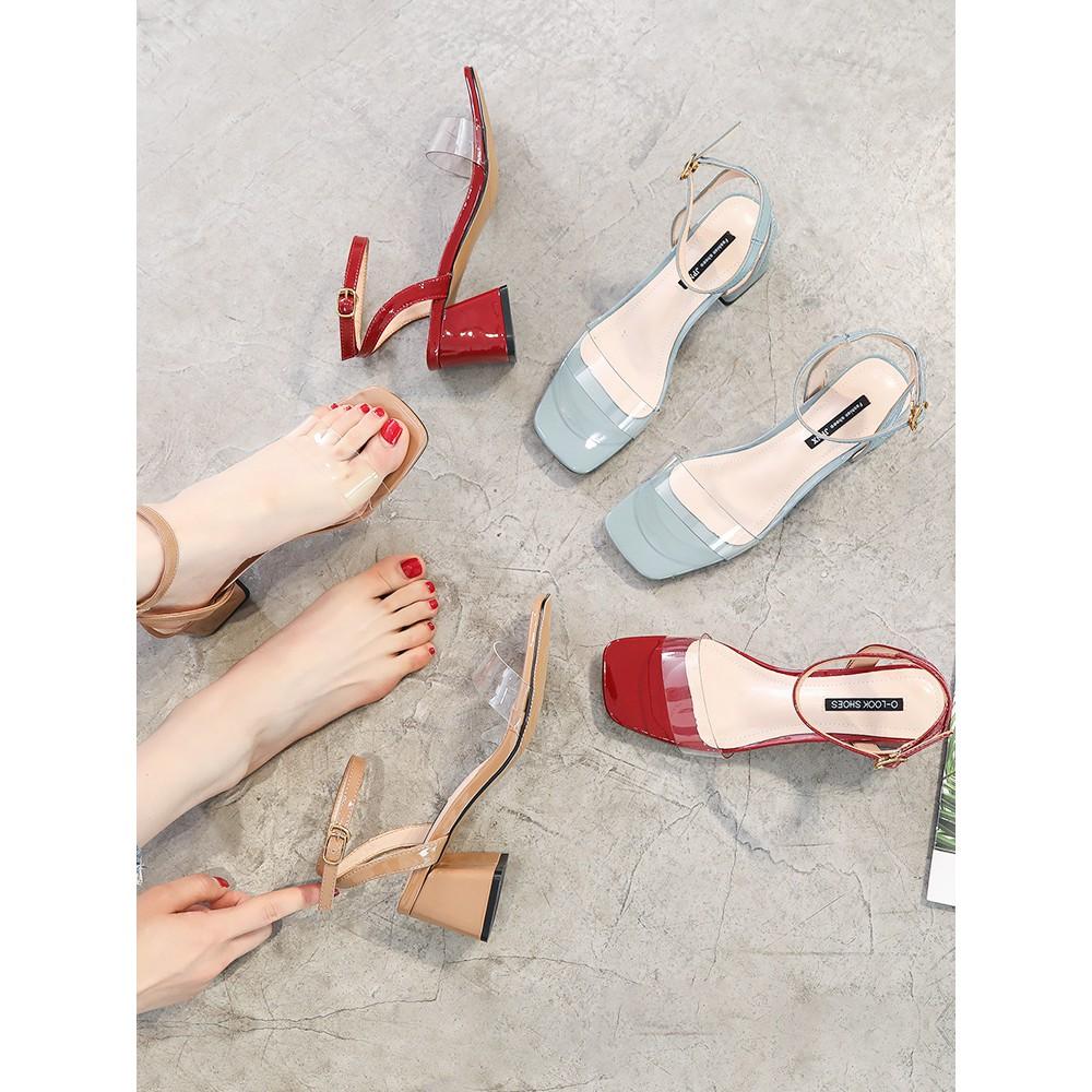 Versi Korea dari rhinestones musim panas Roman angin sandal sepatu wanita busa | Shopee Indonesia