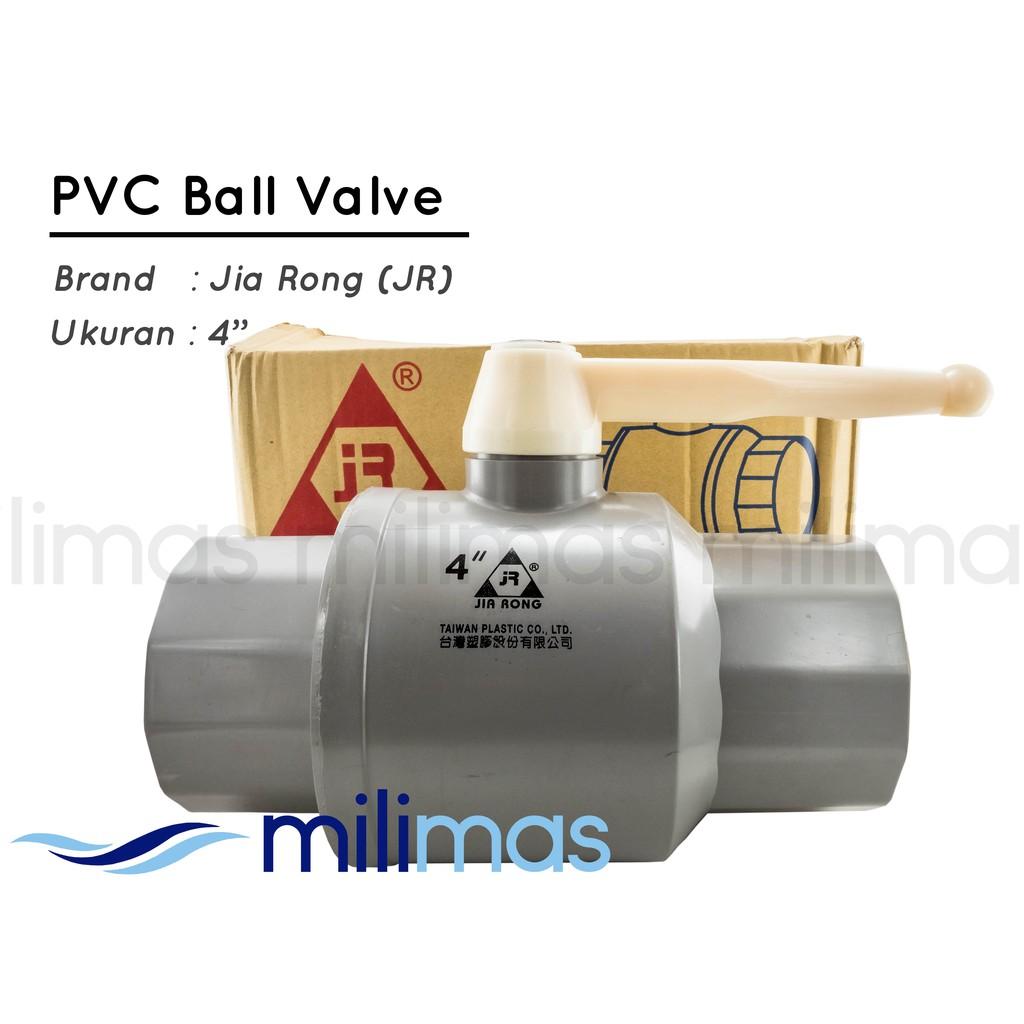 Yuta Pvc Ball Valve Bvs 4 Stop Kran Keran Buka Tutup Ballvalve 1 2 Inchi Ter Berkualitas Shopee Indonesia