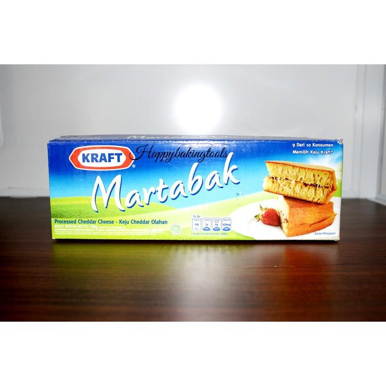 Keju Cheddar Kraft Martabak
