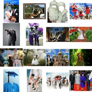 Koleksi desain Editing foto template anak, frame, kostun ...