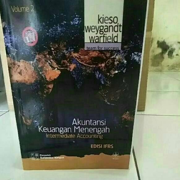 Langsung Atc Akuntansi Keuangan Menengah Volume 2 Edisi Ifrs Kieso Shopee Indonesia