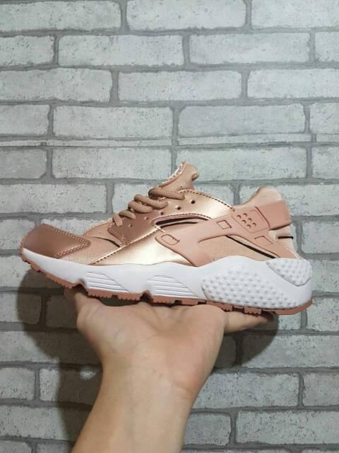 Sepatu Nike Air Huarache Rose Gold Premium