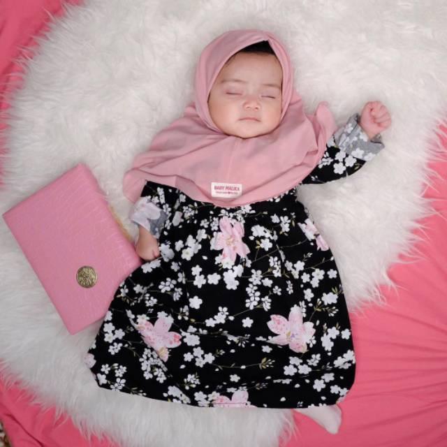 Baju Muslim Anak Perempuan dan Gamis Bayi Aysa Anemona ...