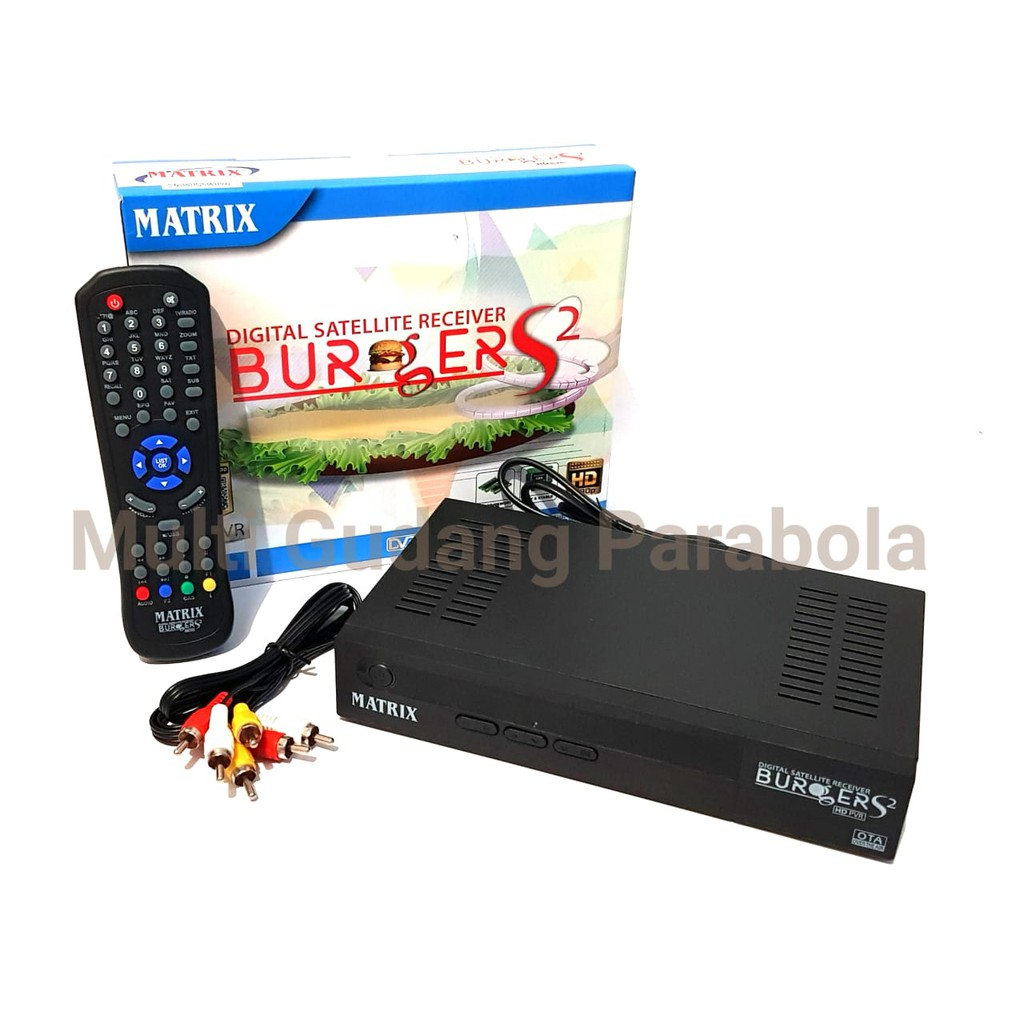 Receiver Matrix Burger S2 K5S New chipset 8mb | Shopee Indonesia