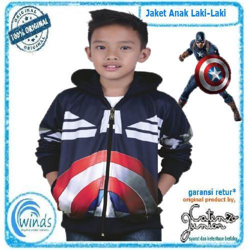 Jaket Anak Laki Laki Murah Hoodie Sporty Cowok Original TDLR ... 685682c386
