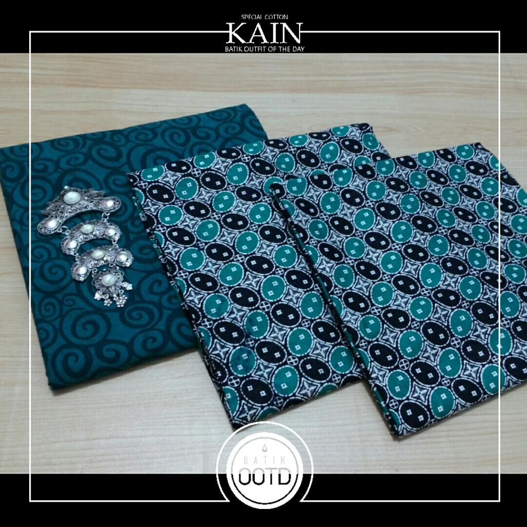 Set Batik Prada Embos Bahan Katun Prima Shopee Indonesia Kain Printing 9