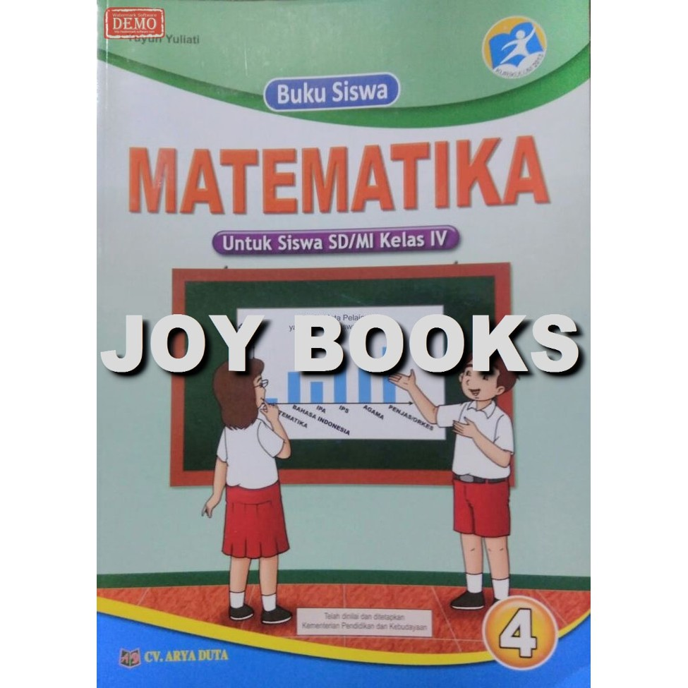Buku Matematika Kelas 4 Sd Buku Matematika Arya Duta Shopee Indonesia