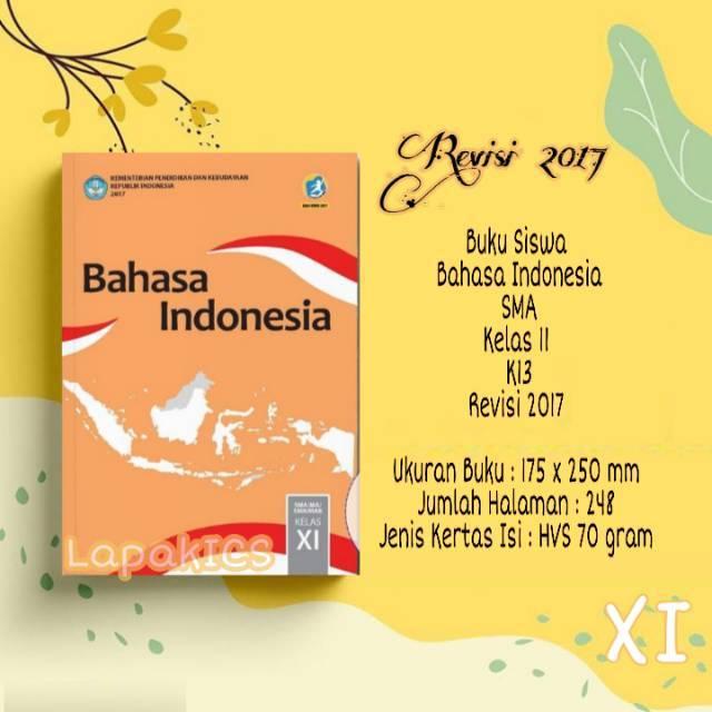 Buku Bahasa Indonesia SMA Kelas 11 Revisi 2017 Kurikulum ...