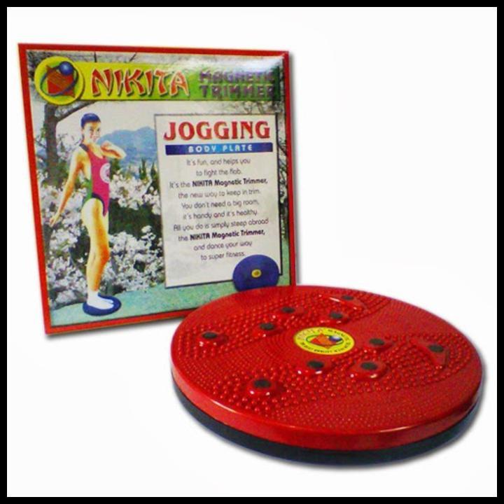 DISKON 40% NIKITA MAGNETIC TRIMMER / JOGGING BODY PLATE Good Quality   Shopee Indonesia
