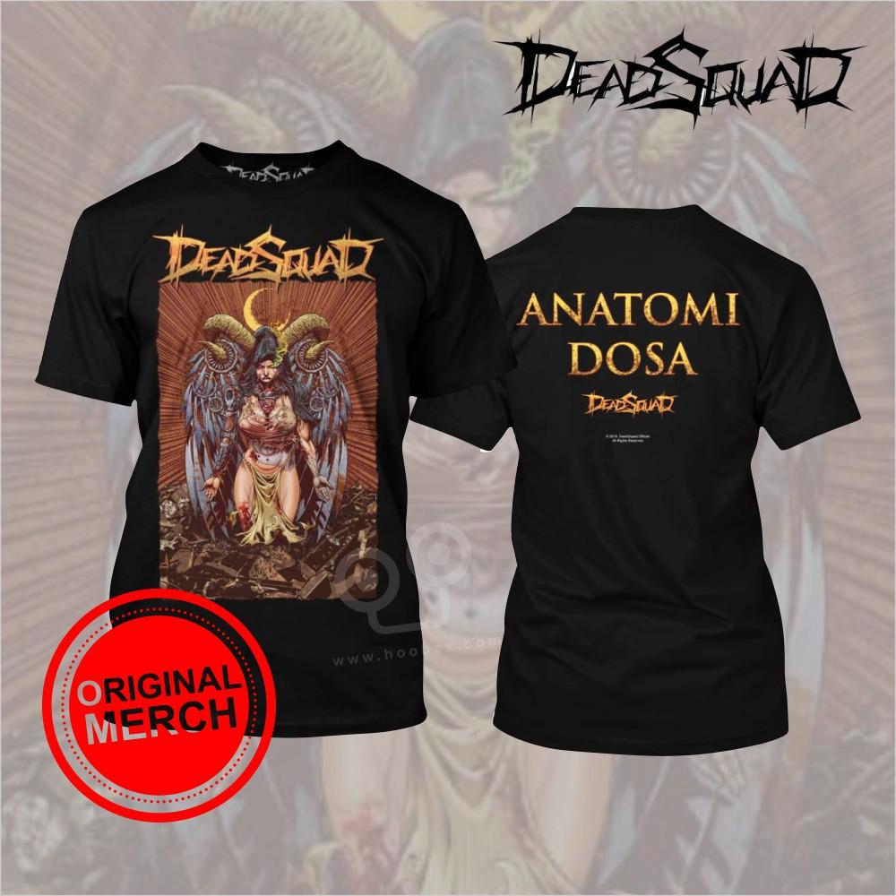 Kaos Deadsquad Anatomi Dosa Original Merch