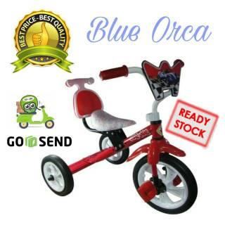 Scooter SHP 609 Mainan Anak Sepeda Roda Tiga / Vespa