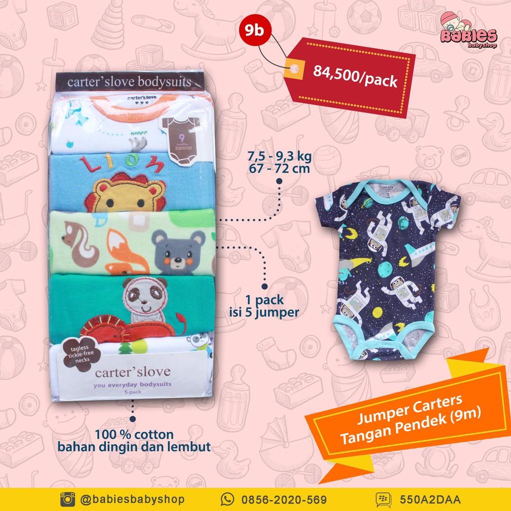 Jumper Pendek Carter Short Carters Love 5in1 Shopee Indonesia