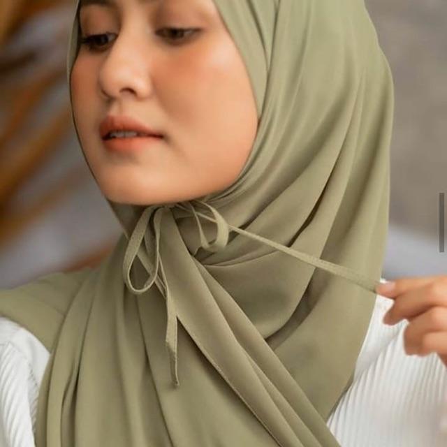 Jilbab Pashmina Tali Kerudung Tali Diamond Shopee Indonesia