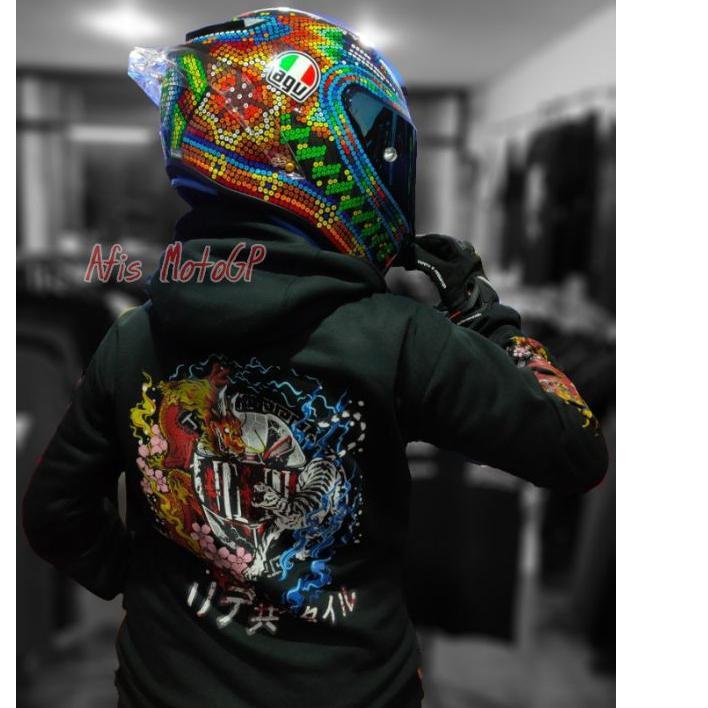 Terbaik 11.11  hoodie sunmori japanese limited edition ride with style hoodie kohaku naga tiger agv