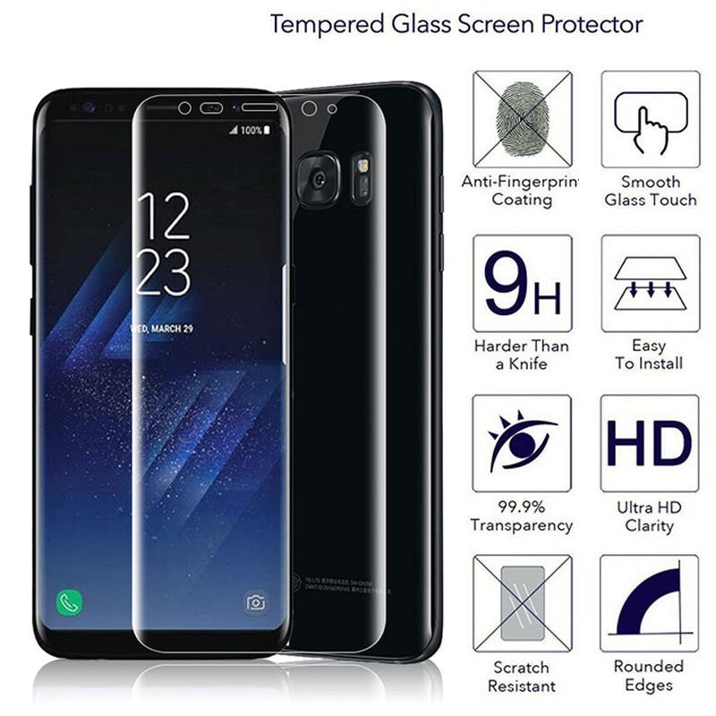 Cover Pelindung Layar Kaca Anti Gores untuk Samsung Galaxy S8 + | Shopee Indonesia