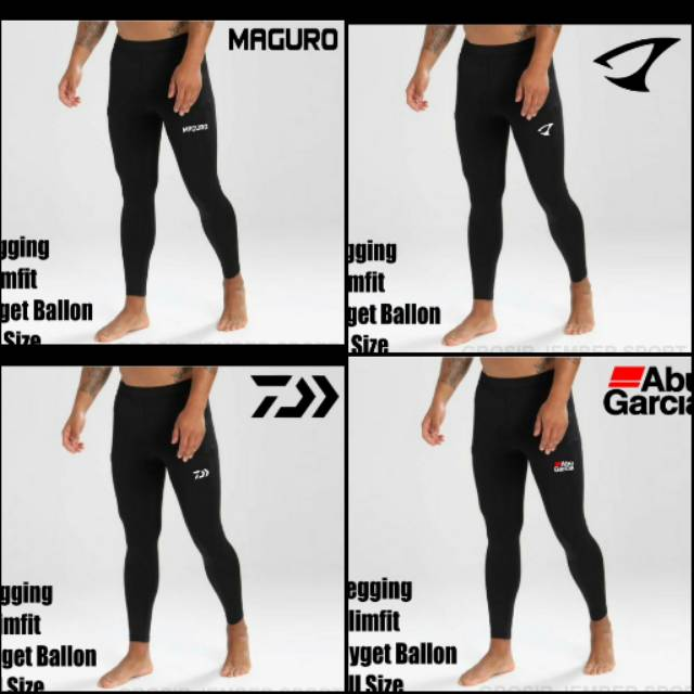 Celana Mancing Jenis Legging Slimfit All Size Abugarcia Shopee Indonesia